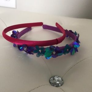 Two colorful headbands